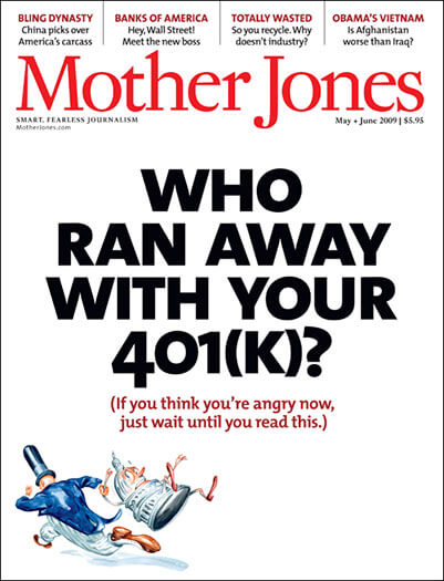 Latest issue of Mother Jones Magazine
