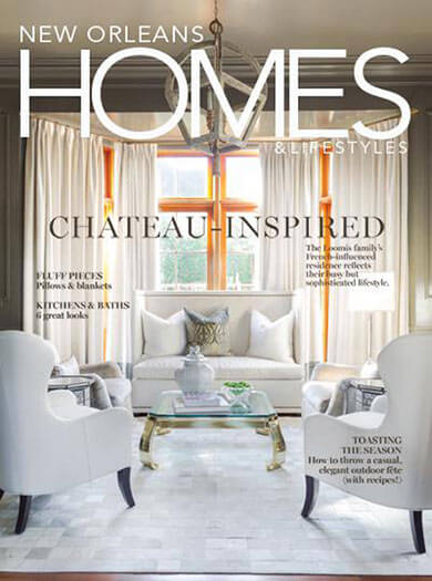 Latest issue of New Orleans Homes & Lifestyles