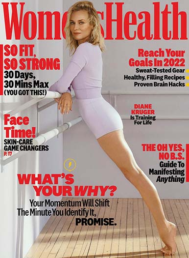 Latest issue of Women's Health