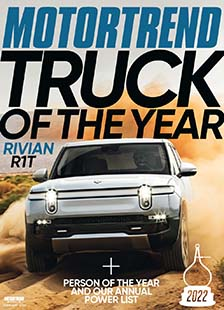 Latest issue of Motor Trend