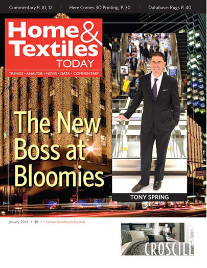 Latest issue of Home & Textiles Today
