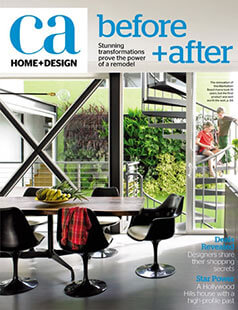 Latest issue of California Home and Design