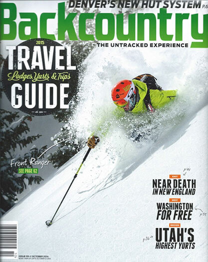Latest issue of Backcountry