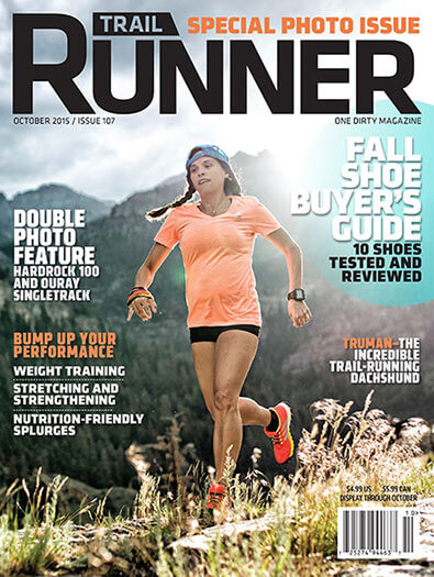 Latest issue of Trail Runner Magazine