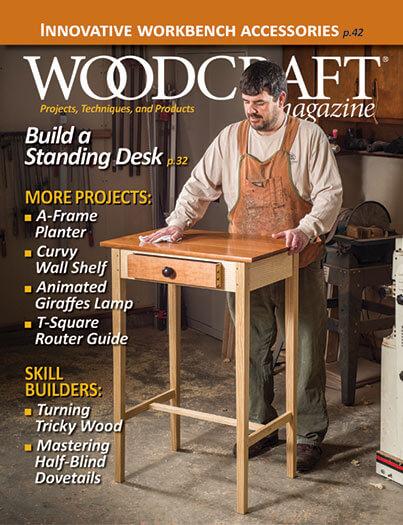 Latest issue of Woodcraft Magazine