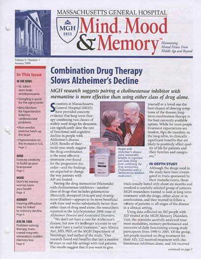 Latest issue of Mind, Mood & Memory Magazine