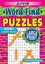 Superb Word-Find Large Print 1 of 5