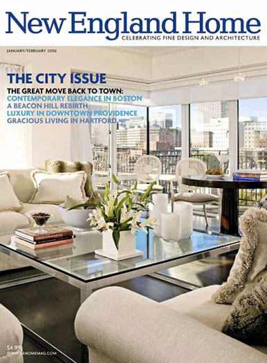 Latest issue of New England Home