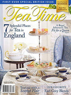Latest issue of Tea Time Magazine