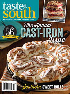 Latest issue of Taste of the South Magazine