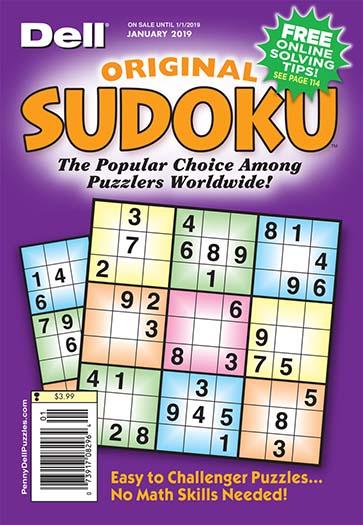 Best Price for Dell Original Sudoku Magazine Subscription