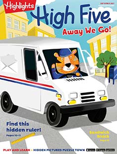 Latest issue of Highlights High 5