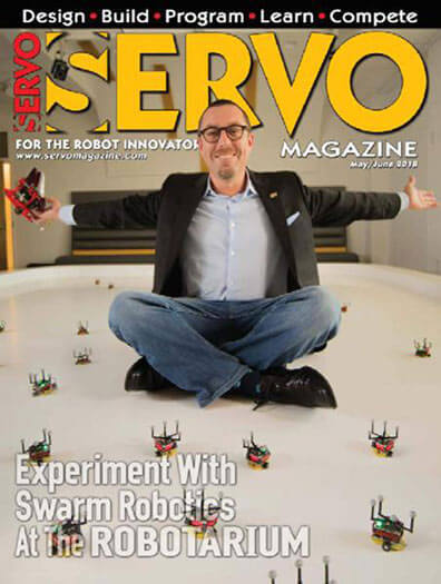Latest issue of SERVO Magazine