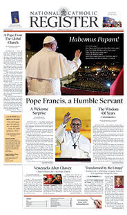 Latest issue of National Catholic Register