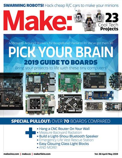 Latest issue of Make Magazine