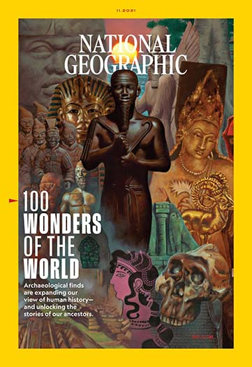 Latest issue of National Geographic Magazine