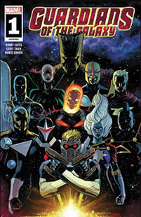 Latest issue of Guardians of the Galaxy Magazine