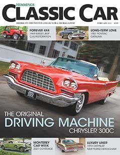 Latest issue of Hemmings Classic Car