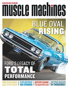 Latest issue of Hemmings Muscle Machines