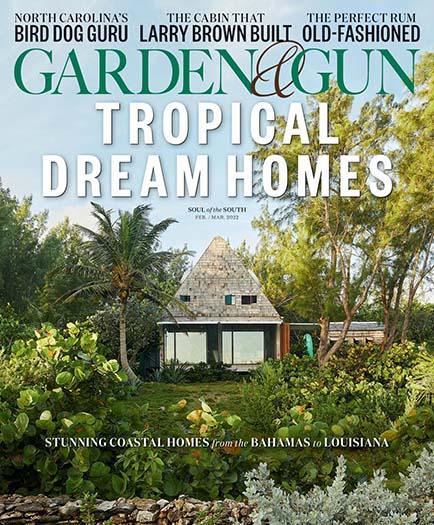 Latest issue of Garden & Gun