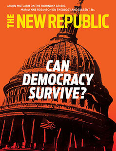 Latest issue of New Republic Magazine
