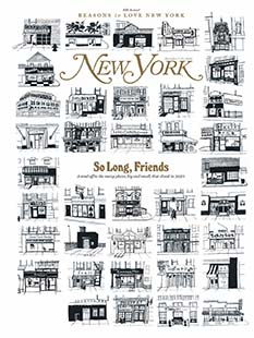 Latest issue of New York Magazine