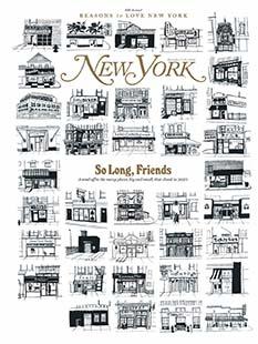 Latest issue of New York Magazine