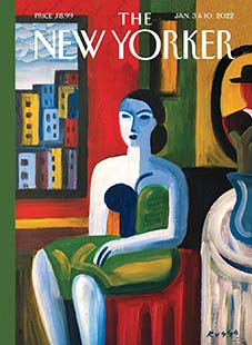 Latest issue of The New Yorker Magazine