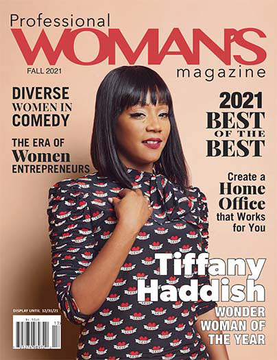 Latest issue of Professional WOMAN'S Magazine