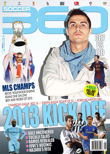 Latest issue of Soccer 360 Magazine