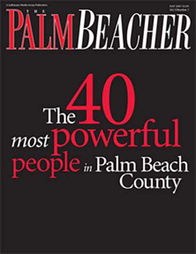 Latest issue of The Palm Beacher Magazine