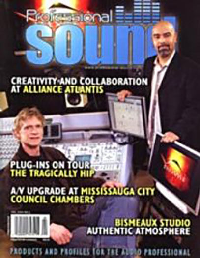 Latest issue of Professional Sound Magazine