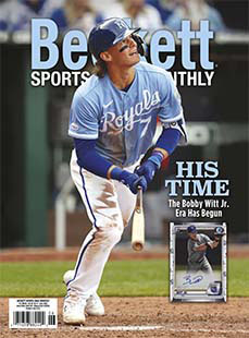 Latest issue of Beckett Sports Card Monthly