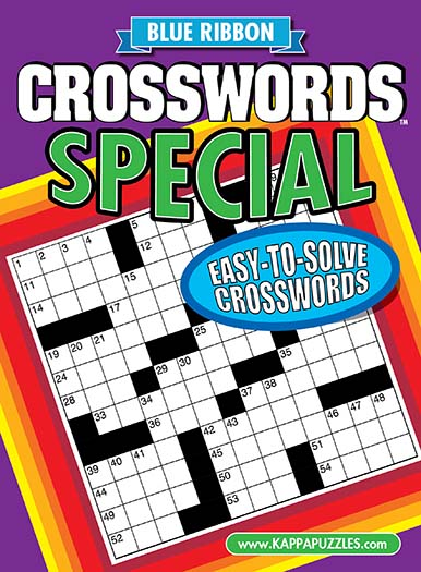 Latest issue of Blue Ribbon Crosswords Special