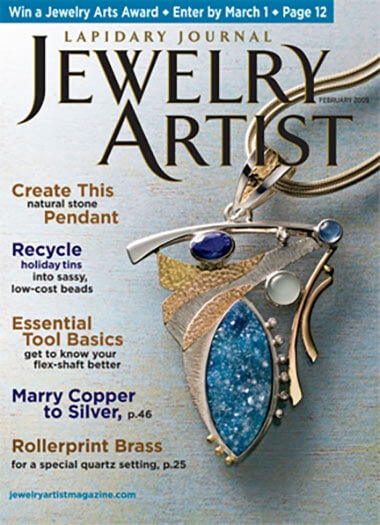 Latest issue of Jewelry Artist Magazine