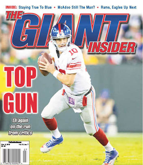 Latest issue of Giants Insider