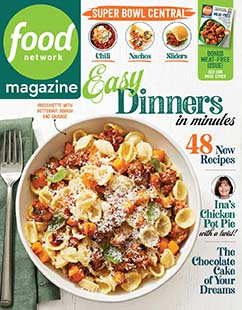 Latest issue of Food Network