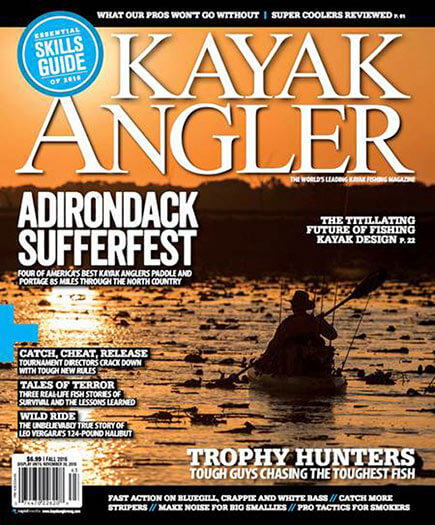 Latest issue of Kayak Angler