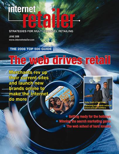 Latest issue of Internet Retailer Magazine