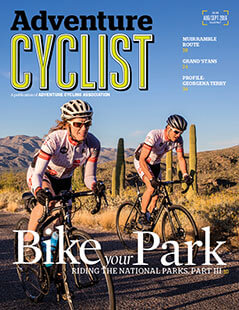Latest issue of Adventure Cyclist