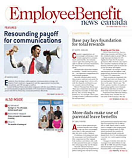 Latest issue of Employee Benefit News Canada