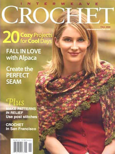 Latest issue of Interweave Crochet Magazine