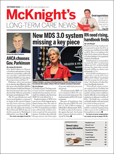 Latest issue of McKnight's Long-Term Care News