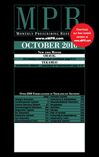 Latest issue of Monthly Prescribing Reference