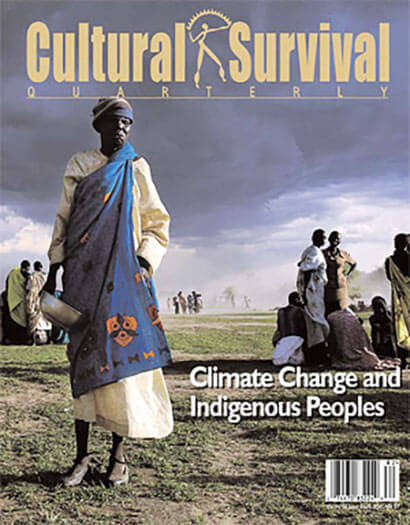 Latest issue of Cultural Survival Quarterly