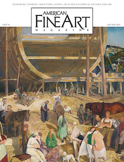 Latest issue of American Fine Art