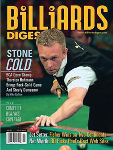 Latest issue of Billiards Digest