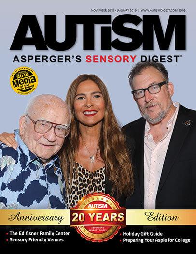 Latest Issue of Autism Asperger's Sensory Digest Magazine