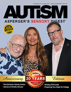 Latest Issue of Autism Asperger's Sensory Digest Magazine
