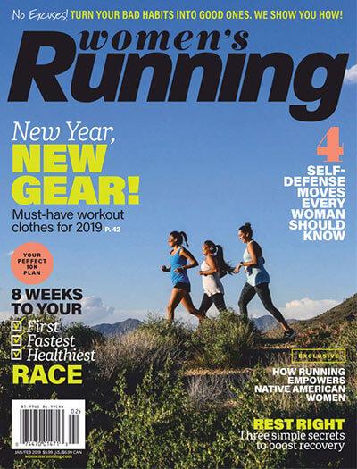 Latest issue of Women's Running Magazine